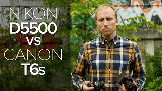 Hands-on Canon T6s/T6i (750D/760D) vs Nikon D5500