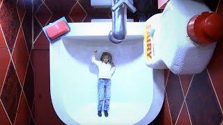 Видео для детей с игрушками. Игры и приключения в доме великана