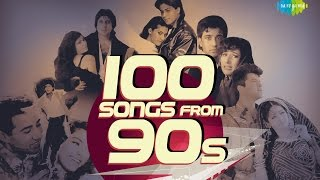 Top 100 Songs From 90's   90's के हिट गाने   HD Songs   One Stop Jukebox