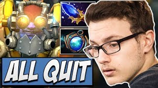 Liquid.Miracle Tinker - ALL QUIT? | Dota Gameplay