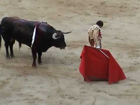 Bull Fight In Barcelona- The Plaza De Toros Monumental Part 2 video