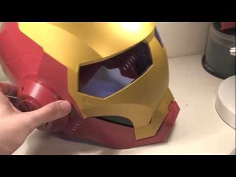 Iron Man 2 Movie Helmet Role Play Toy Review
