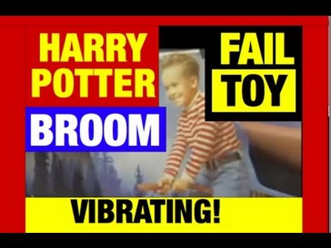 Harry Potter Vibrating Broom Nimbus 2000