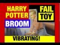 "Harry Potter Vibrating Broom Nimbus 2000 ""Fail Toys"" by Mike Mozart @JeepersMedia"