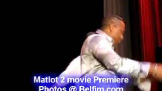 Viv Net Ale - Solo Rap Freestyle - Matlot 2 Movie Premiere Pt 9
