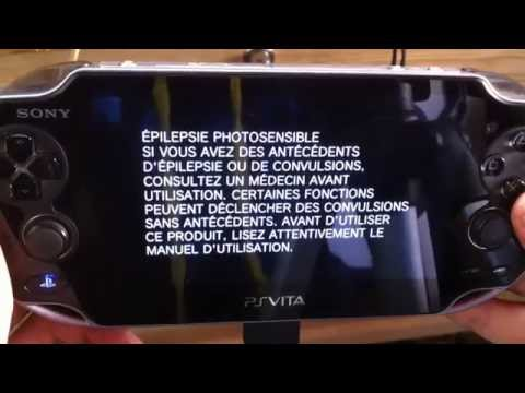tuto comment formater une Ps Vita hard reset