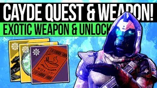 Destiny 2 | NEW CAYDE QUEST & EXOTIC WEAPON! Farewell Reward, Solstice Artifact, Triumphs & More