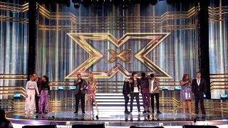 The X Factor UK 2018 The Results Live Semi-Finals Night 1 Winners Full Clip S15E25