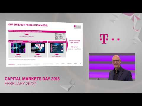 1. Tim Höttges on Group Strategy – Deutsche Telekom Capital Markets Day 2015