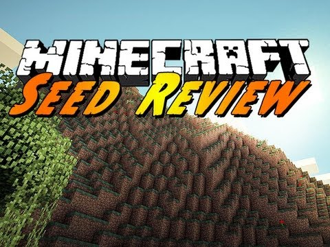 Minecraft Seed Review : Diamonds at Spawn!