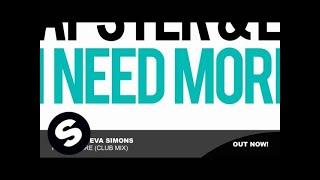 Apster & Eva Simons - I Need More (Club Mix)