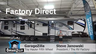 Garagezilla 4620W 20 Feet Toy Hauler fifth wheel - Weekend Warrior