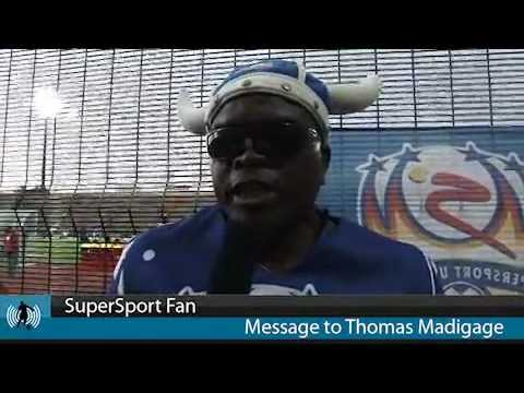 SuperSport United Fan - Message to Thomas Madigage