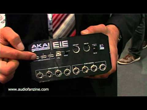 AKAI EIE video demo [Musikmesse 2011]