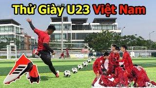 5 Thử Thách Bóng Đá với đôi giày của Bùi Tiến Dũng U23 Việt Nam ở Chung Kết Châu á