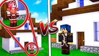 Minecraft ITA - CASA MINUSCOLA CONTRO CASA GIGANTE!!