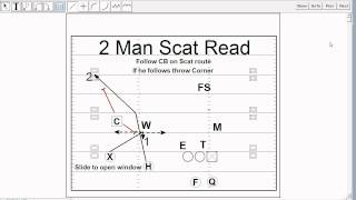 Scat Pass Play in the Triangle Concept