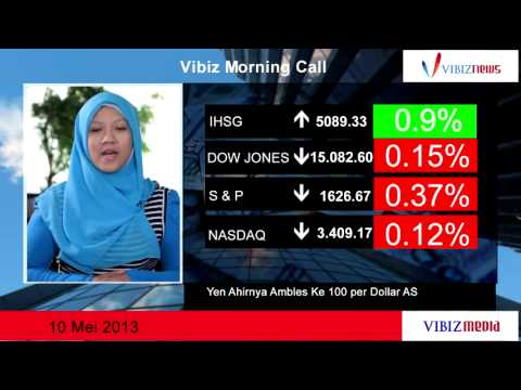 Yen Akhirnya Ambles ke 100 per Dollar AS, Vibiznews 10 Mei 2013