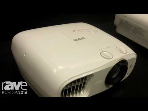 CEDIA 2016: Epson Features Home Cinema 3900 Full HD 1080p with 2700 Lumens and Manual Lens Shift