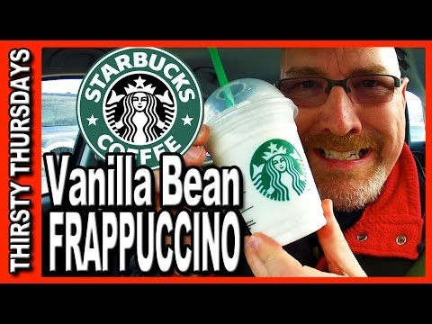 Thirsty Thursdays - Starbucks Vanilla Bean Frappaccino Review
