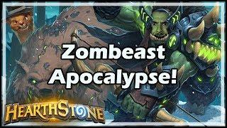 Zombeast Apocalypse! - Tavern Brawl #157 - Witchwood / Hearthstone