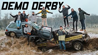 Demolition Derby with Friends