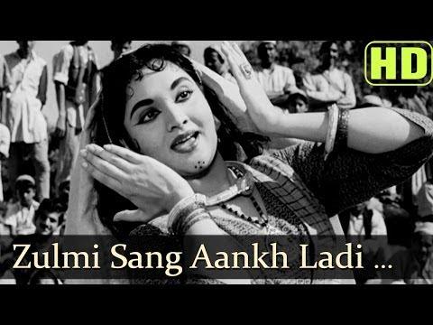 Zulmi Sang Aankh Ladi (hd) - Madhumati Songs - Dilip Kumar - Vyjayantimala - Lata Mangeshkar video
