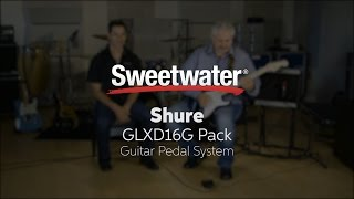 Shure GLXD16G Guitar Pedal System by Sweetwater