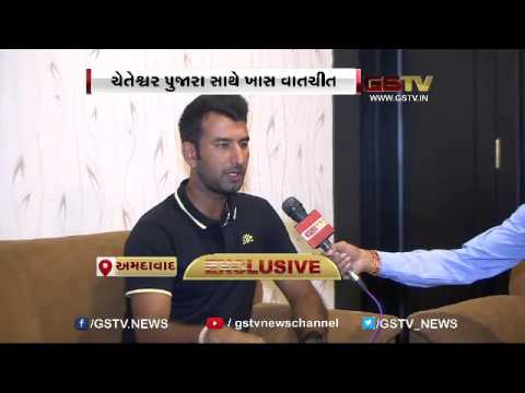 EXCLUSIVE: Indian Cricketer Cheteshwar Pujara Talks with GSTV
