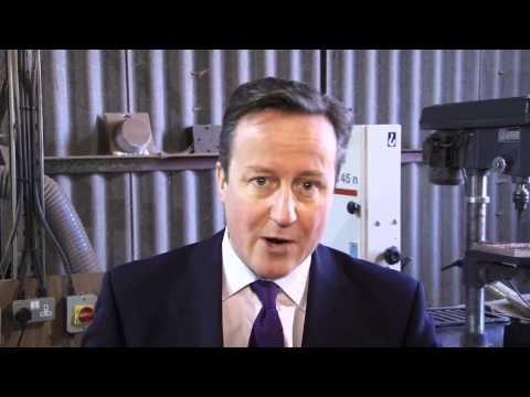 David Cameron: my message to Britain's small businesses