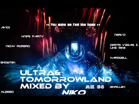 Electronic Dance Music Mix #6  - Tomorrowland Mix - Niko