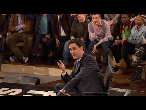 Ed Miliband on looking like Wallace - Free Speech - BBC Three