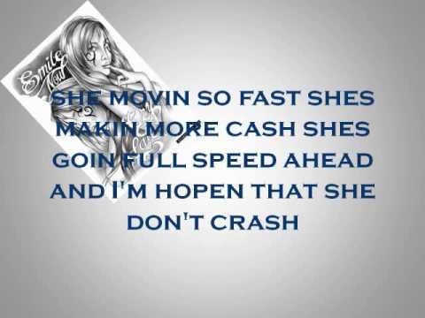 Fast Life Lyrics video