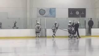 Glen Rock, Ramsey Ice Hockey Bergen County Tournament Warmups at Ice Vault