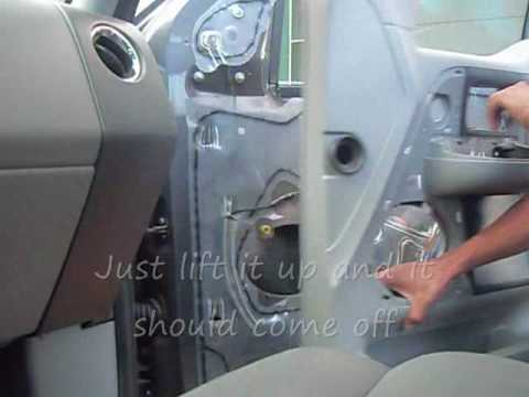 How install side view mirror on a Ford F-150 (2004-2008 models)