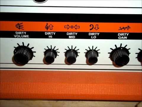 Orange Rocker 30 Demo