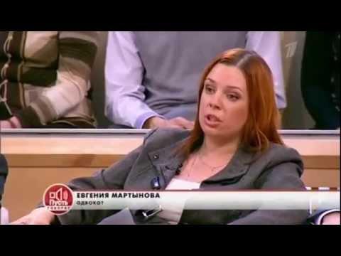 """Конец света с Алисой Прада - """"Пусть говорят"""" 02 11 2012"""