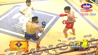 Kun Khmer, Chhut Sereyvanthorng Vs Thai, Phatnakhorn, SEATV boxing, 17 Dec 2017  Fights Zone
