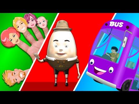 Finger Family | Wheels On The Bus | Nursery rhymes for preschool kids | kids songs abc song