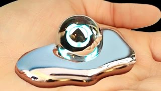 LIQUID MIRROR!? Metal That Melts In Your Hand!