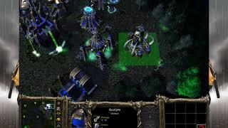 Warcraft 3 Undead vs Human 1v1 Gameplay 2019