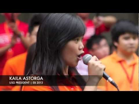 General Elections 2013 Miting De Avance: Kaila Astorga, USG President
