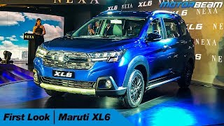 Maruti XL6 - First Look | MotorBeam