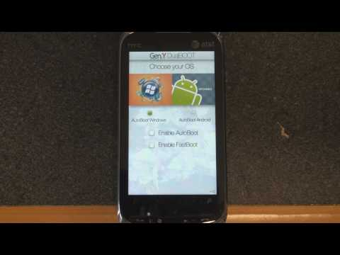 How to Dual Boot Windows Mobile and Android