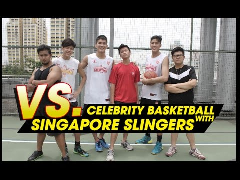 CELEBRITY BASKETBALL WITH THE SINGAPORE SLINGERS