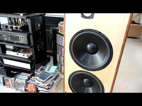 Open Baffle passive two way speakers