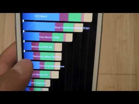 U.S. Samsung Galaxy S III Review: Quick Benchmarking Tests