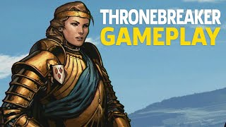 12 Minutes of Thronebreaker: The Witcher Tales Gameplay