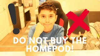 Apple Homepod Unboxing+Review   Do Not Buy It!