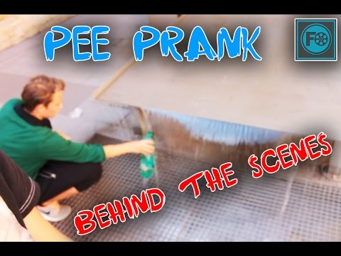 Pee Prank | Behind the scenes | FreescootOfficial